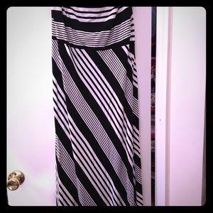 Cynthia Rowley Strapless Maxi Dress